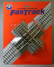 LIONEL 90 DEGREE FASTRACK fasttrack 3 rail train track CROSSING 6-12019 NEW