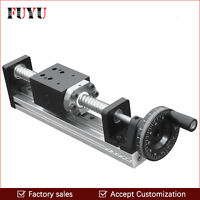 CNC Manual Driven Ball Screw Linear Rail Guide Stage Slide Linear Motion Guide