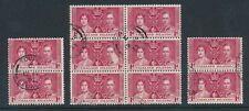 Royalty George VI (1936-1952) British Blocks Stamps