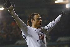 DIMITAR BERBATOV - Hand Signed 12x8 Photo - Tottenham Hotspur Spurs - Football