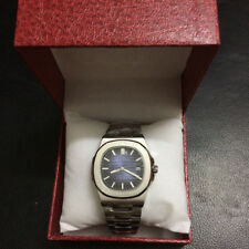 Nautilus Steel Bagelsport Automatic Mechanical Watch Blue Dial Hot Sale Men Gift