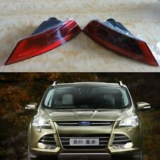 1Pair Rear Red Fog Lamp Light Reflectors For Ford Escape/Kuga 2013-2015