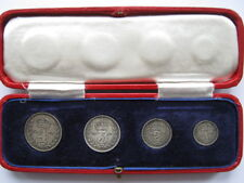 More details for 1939 george vi silver maundy set in royal mint dated case