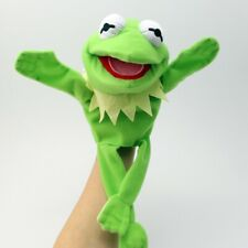 US Ship Disney Toy The Muppet Show Kermit the Frog plush puppet Xmas Toy