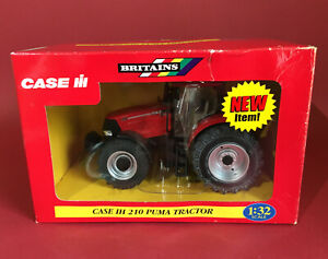2007- Britains 1/32 Case IH 210 Puma Tractor No42303 MIB