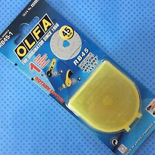 OLFA 1 LAMA CIRCOLARE ROTARY CUTTER 45MM BLADE RB45 RTY-2/G RTY-2/DX 45-C