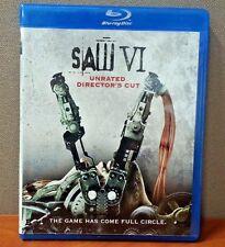 Saw VI     (Blu-ray) Unrated Directors Cut   LIKE NEW