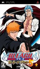 Used PSP Bleach: Heat the Soul 5  Japan Import ((Free shipping))