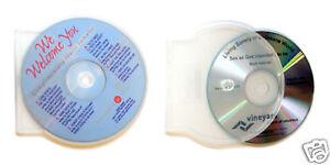 50x CD or DVD Duplication, inkjet printing & Clamshell