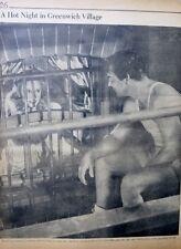 1942 JANET BLAIR - JONES - MY SISTER LUCEN  HOLLYWOOD MOVIE PM GREENWICH VILLAGE