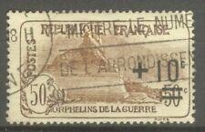 """FRANCE STAMP TIMBRE N° 167 """" ORPHELINS, LION DE BELFORT 1922 """" OBLITERE TB"""