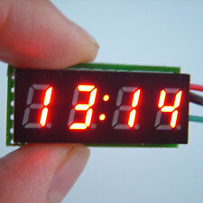 "0.30"" Digital LED Clock Watch Time for 12V 24V  Car Motorcycle bicycle E-bike R"