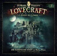 H. P. LOVECRAFT - CHRONIKEN DES GRAUENS 3: DIE NAMENLOSE STADT   2 VINYL LP NEU