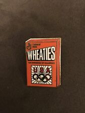 USA Wheaties Breakfast Of Champions General Mills Logo Pin Classic Cool Vintage