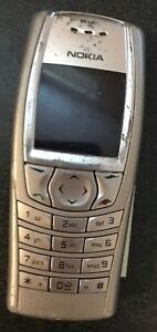 READ BEFORE U BUY Nokia 6610 Gray (T-Mobile) Cell Phone Fair Used