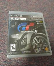 Gran Turismo 5 XL Edition (Sony PlayStation 3, 2012)  BRAND NEW