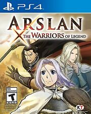 PLAYSTATION 4 PS4 GAME ARSLAN: THE WARRIORS OF LEGEND BRAND NEW AND SEALED
