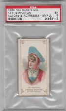 1889 N70 Duke Actors & Actresses Fay Templeton PSA 5 EX