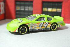 Hot Wheels Stock Car #44 - Green - Loose - 1:64 Race Car