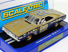 Scalextric C3323 1969 Dodge Charger 500 Bobby Allison Slot Car 1/32 for Scx