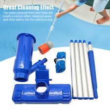 Above-Ground Cleaning Tool With Brush Swimming Spa Pool Vacuum Head Jet A