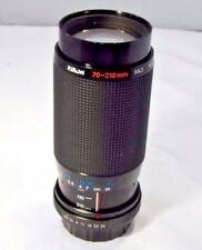 Used Yashica C/Y Kiron 70-210mm f4.5 Lens (SN 67549101)