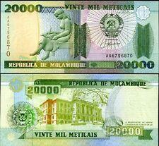 MOZAMBIQUE 20000 20,000 METICAIS 1999 P 140 UNC