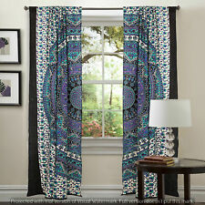 Indian Mandala Cotton Queen Wall Drapes Decor Wall Hanging Window Door Curtains