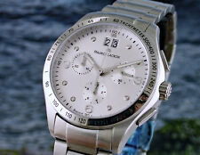 MAURICE LACROIX  Damenuhr  Miros  Chronograph edelstahl mit Diamanten