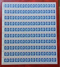 US Official Mail Stamp #O143 Full Sheet 0f 100 MNH