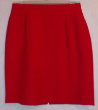 """NEW Ladies cherry/dk red lined Skirt W 26"""" L20"""""""