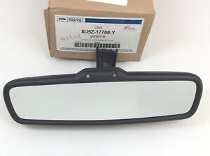 Ford OEM Inside Auto Dimming Rear View Mirror microphone & compass 8U5Z-17700-Y