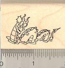 Sea Monster Rubber Stamp E10504 WM