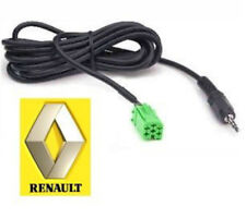 AUX-RENAULT.02 MALE 3.5mm jack lead for Update List radio only Aux adapter