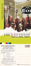 EOS ORCHESTRA THE RED VIOLIN UNUSED ADVERTISING COLOUR POSTCARD