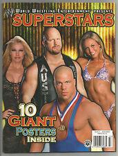 WWF WWE Magazine Program, RARE WM DIVAS ECW Posters AUSTIN, OWEN,  BRIAN PILLMAN