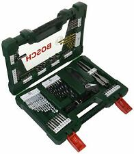 Bosch V-Line Titanium Briefcase of 83 Units for Drilling and Screw