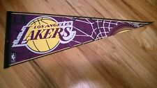 """LAKERS"" LOS ANGELES  Pennant  by WINCRAFT Edition # 6. Made in USA."