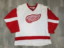 Rare Vintage 90s Starter Detroit Red Wings Sweater Hockey Jersey Mens XL Cotton