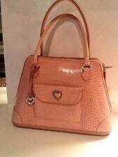 """Vintage Light Pink Brighton Handbag Shoulder Bag 12 1/2"""" W X 9""""h"""