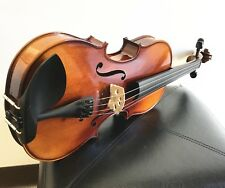 "New 15"" Size Viola, Solid Wood, Helicore Strings+ Bow+ Case, Ready to Play!"