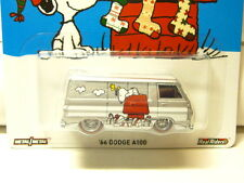 HOT WHEELS POP CULTURE-PEANUTS 1966 DODGE A100 NEW!