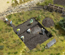 Busch 1251 NEW PEAT BOG SET WITH DISCOVERED CORPSE