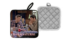 Supernatural Jensen Ackles Dean Winchester Castiel Pot Holder