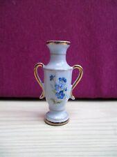 vase miniature B & B of BOBEMIA en terre cuite peint pour vitrine/maison poupées