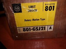 New Allen Bradley Limit Switch Rotary Motion Type 801-GSJ21   (0034)