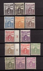 Tunisie - Taxes - Tête de Chimère -  Série de 14 timbres neufs ** - cote  20 €