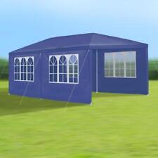 JOM 127146 - Gartenpavillon Inklusiv 6 Seitenwände 4 Fenster 3x6 Meter