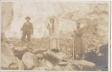 RPPC,Oberer Grindlewaldgletscher,3 Hikers,Bernese Alps,Canton Bern,Used,1910