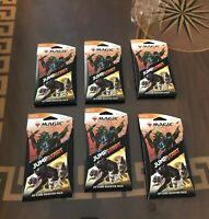 Magic The Gathering Jumpstart Booster Pack *Lot Of 6* Sealed *IN HAND*